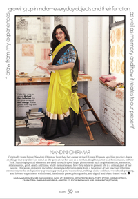 Featured in Elle India Magazine
